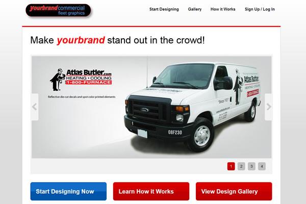 YourBrandGraphics.com Website Design